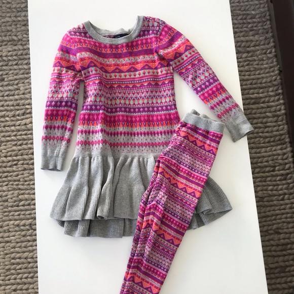 f1eef3f0425 GAP Other - Gap kids sweater dress and leggings